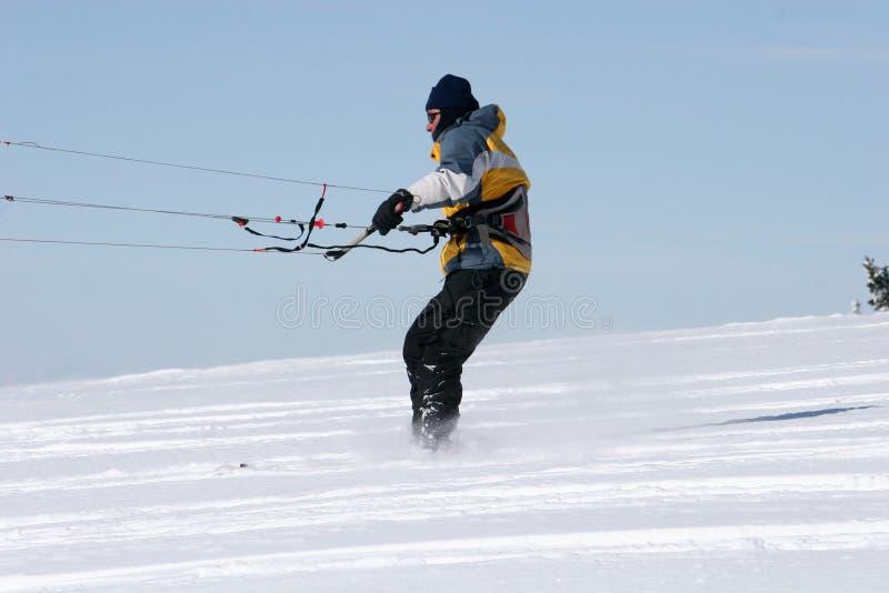 Kite Skier Royalty Free Stock Photo
