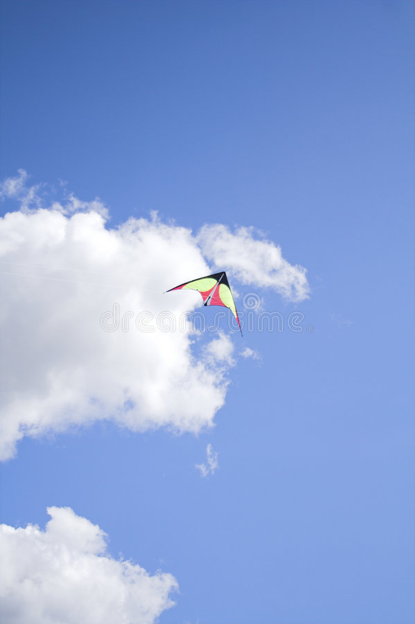 Kite in the sky royalty free stock images