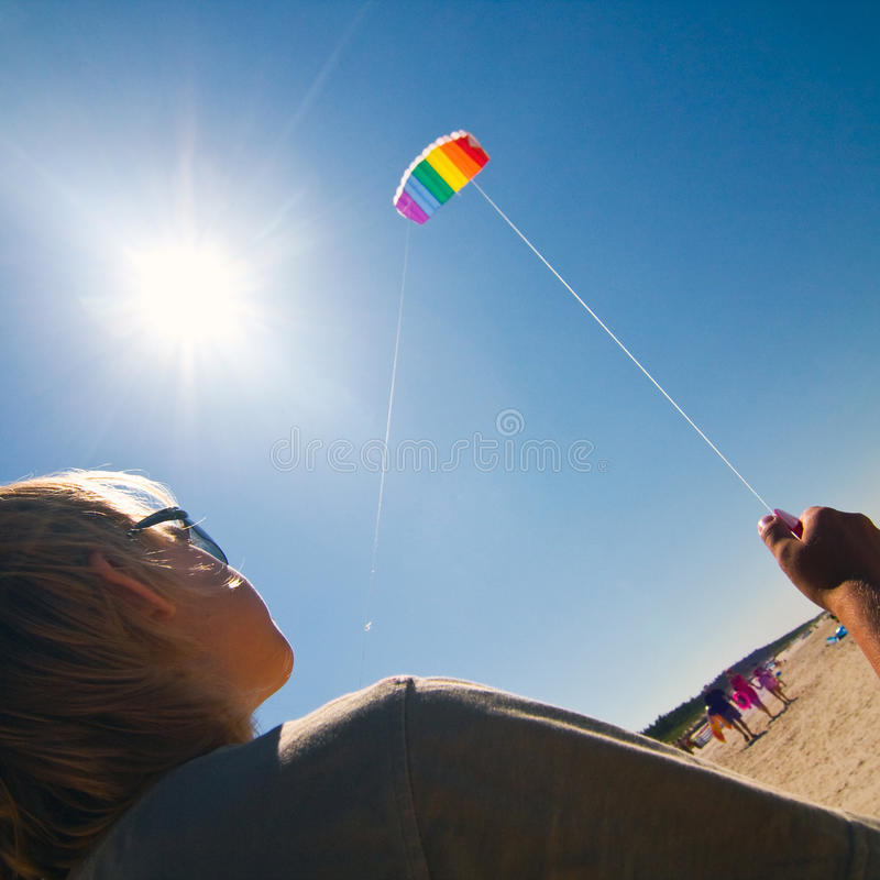 Kite On The Sky Stock Images