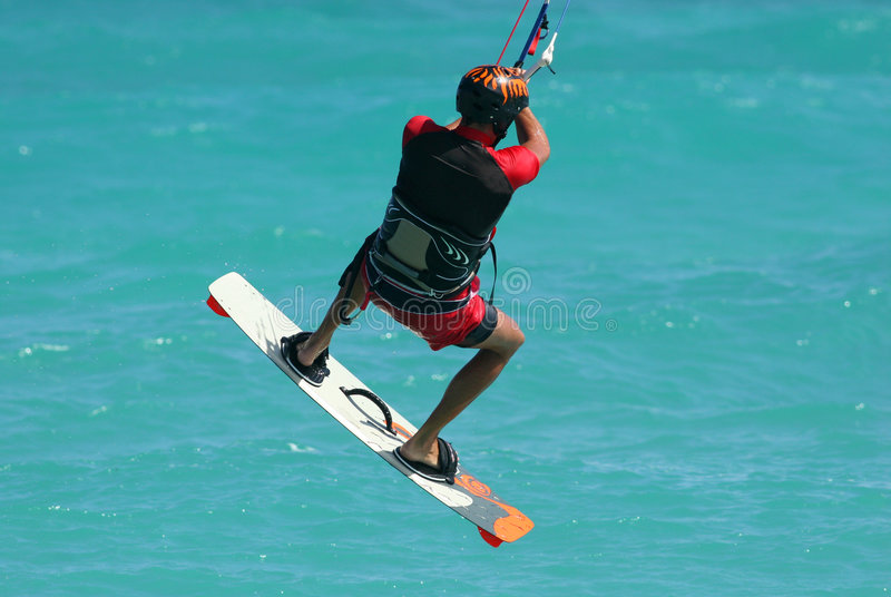 Kite spin 4 stock photo