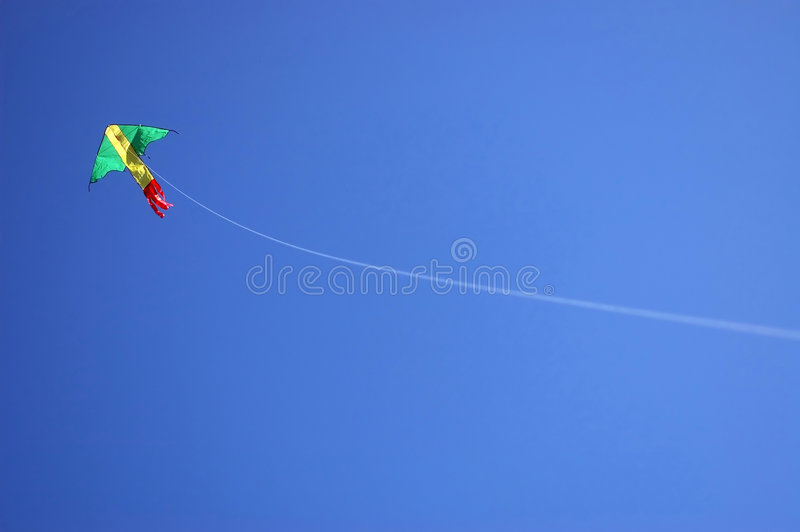 Kite and String royalty free stock images