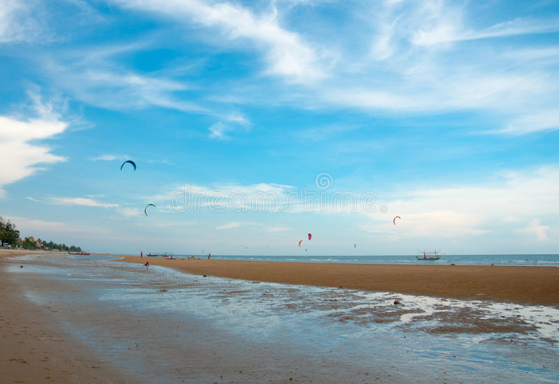 Download Kite Surf On The Sea Side Royalty Free Stock Image - Image: 24503106