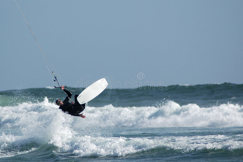 Kite Surfer 2 Royalty Free Stock Photo