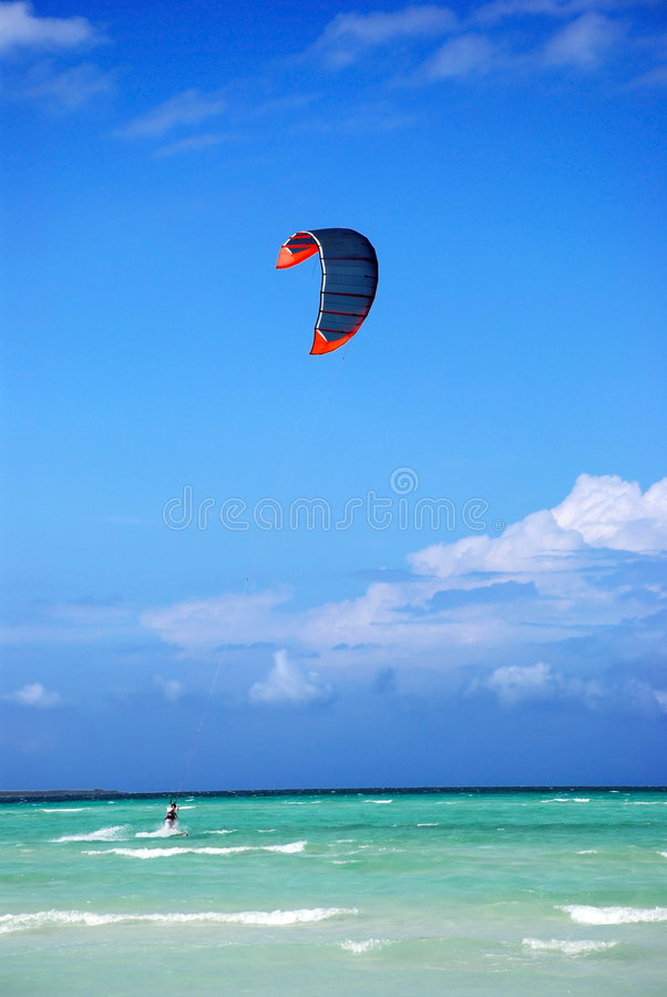 Free Kite Surfer Royalty Free Stock Images - 2454249