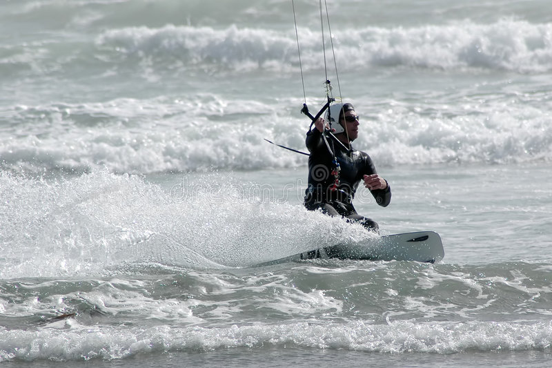 Download Kite Surfer 4 stock image. Image of excitement, surfer - 614991