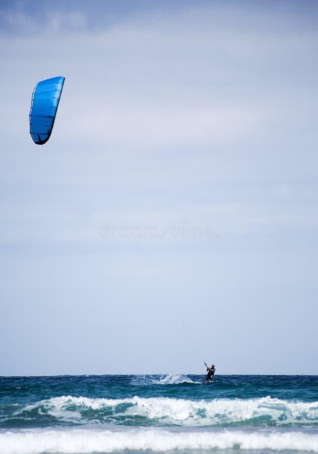 Download Kite Surfer At Famara, Lanzarote Stock Images - Image: 5778064