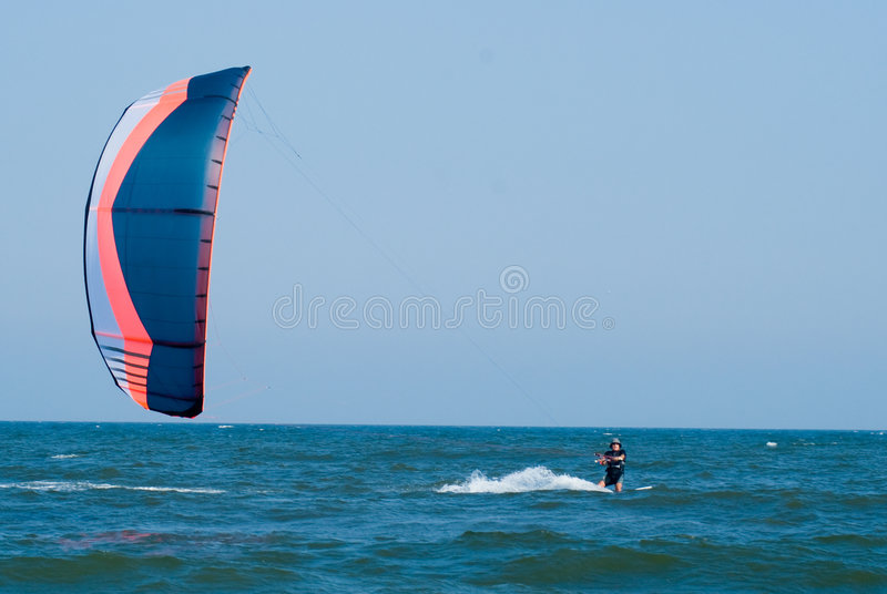 Download Kite Surfing Royalty Free Stock Photography - Image: 6141017