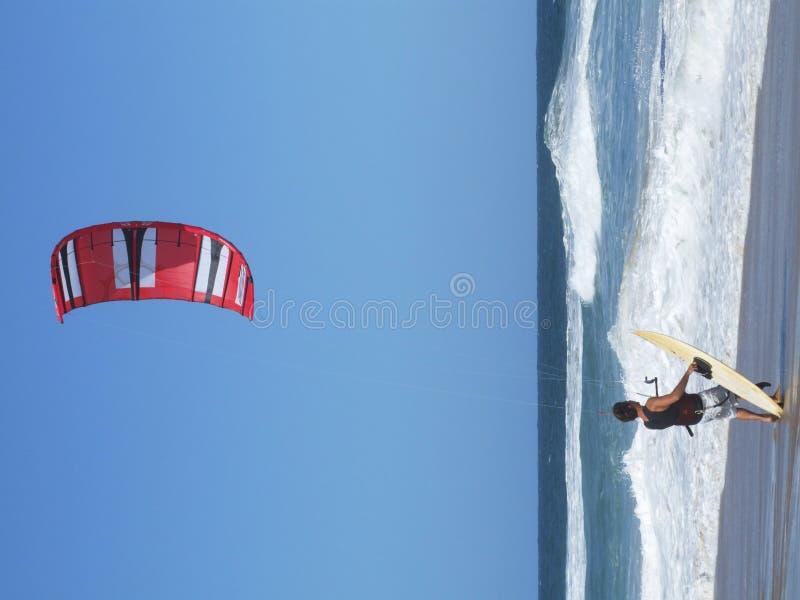 Free Kite Surfing In Santa Catarina Brazil Stock Images - 1570544