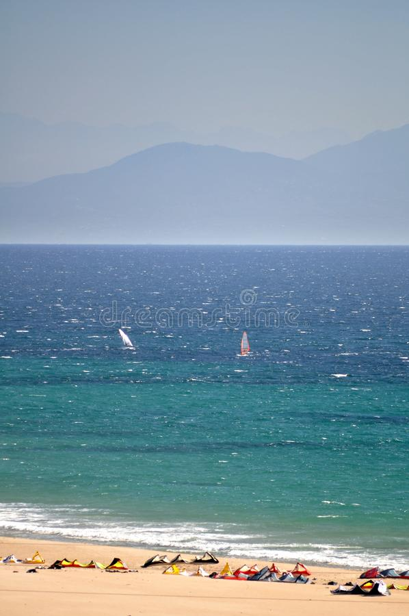 Download Kite Surfing Kites On A Beach Stock Photography - Image: 17604812
