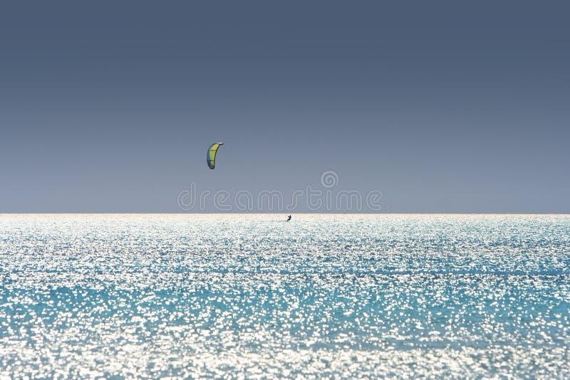 Kiteboarder imagen de archivo
