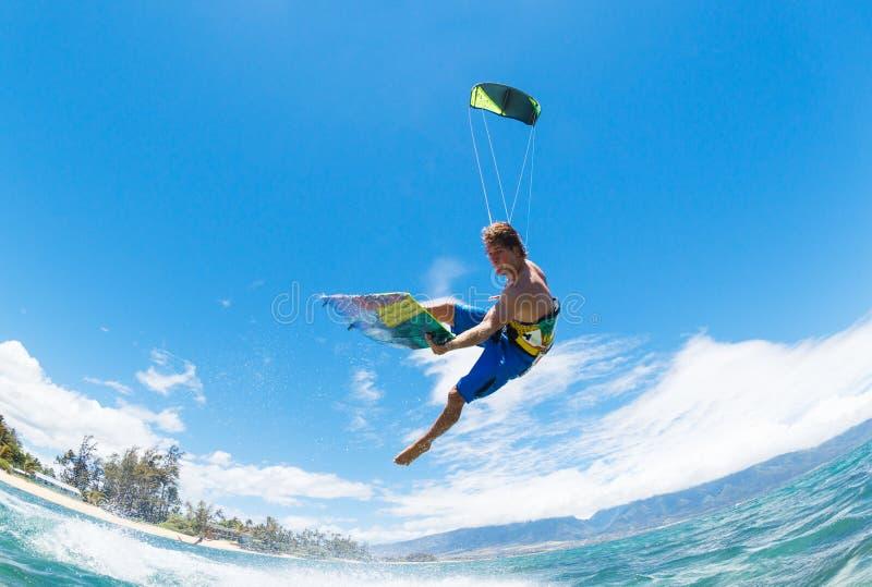 Kiteboarding stockfoto