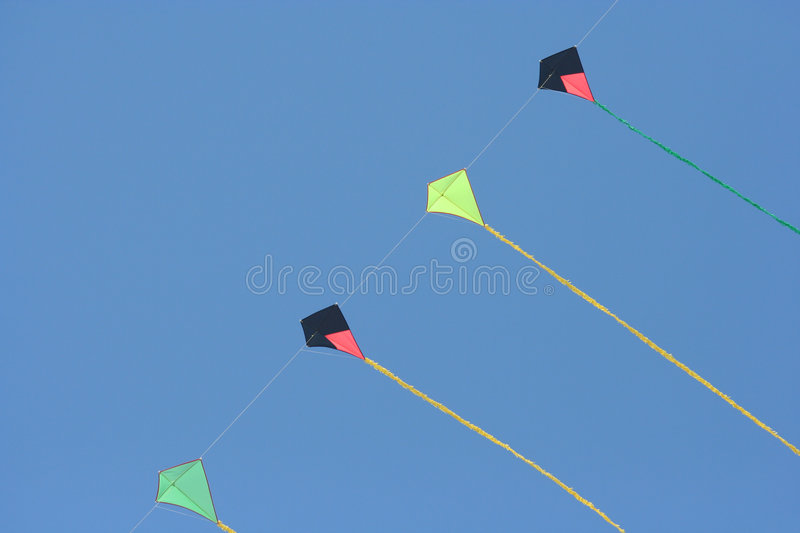 Download Kites stock photo. Image of rope, kite, recreation, blue - 779736