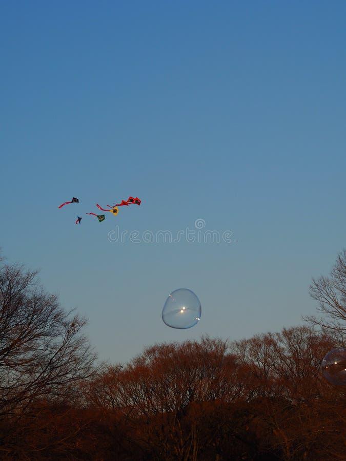 kites E bolle immagini stock libere da diritti