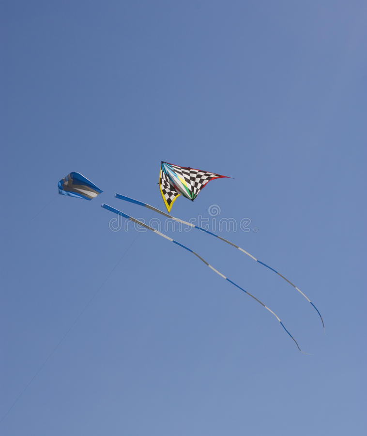 Download Kites Flying Stock Photo - Image: 15557180