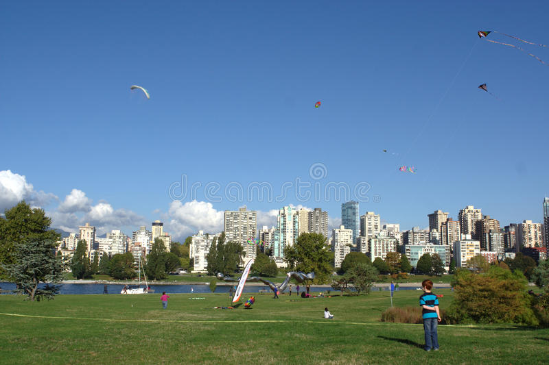 Kites at Play, BCKA Fun Fly stock photos