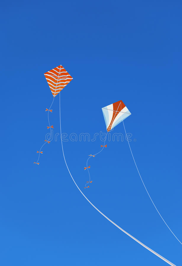 Download Kites in the Sky stock photo. Image of string, kite, line - 38423818