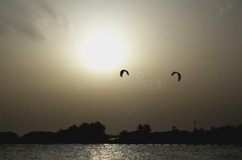 Kitesurf stockbilder