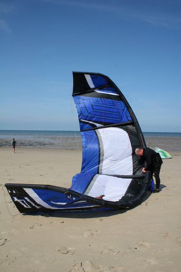 Kitesurfer fotos de stock royalty free