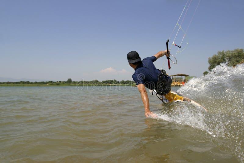 Kitesurfer photographie stock libre de droits