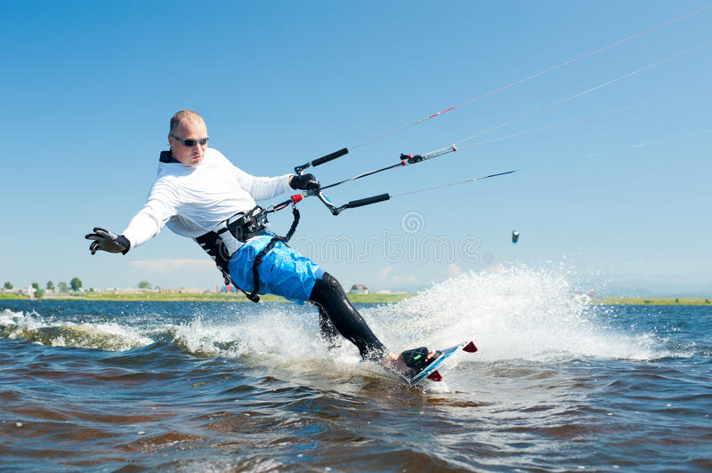 Download Kitesurfer stock image. Image of camera, life, move, belt - 20848151