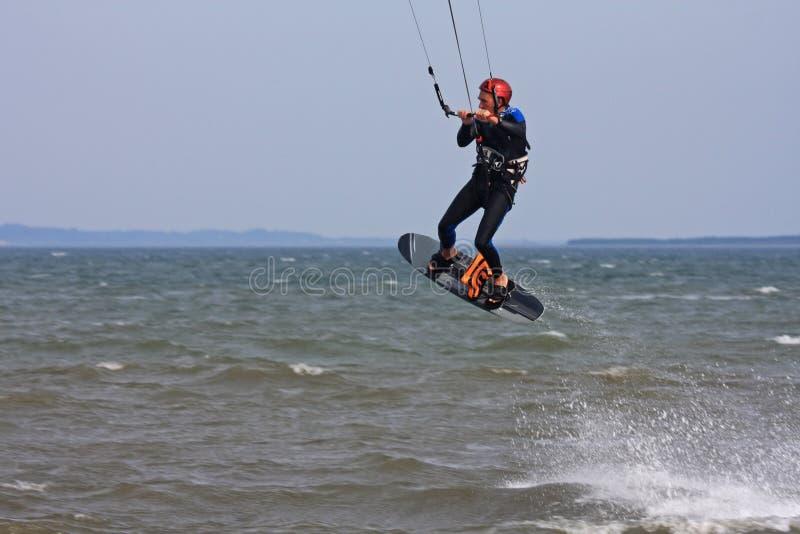 Kitesurfer lizenzfreie stockfotos