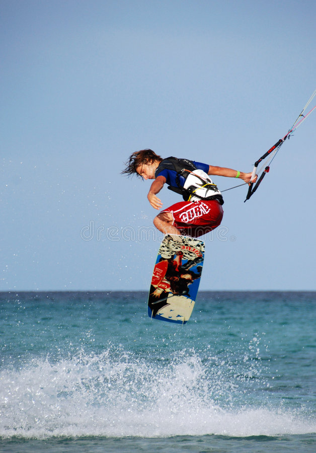 Free Kitesurfer Royalty Free Stock Images - 6729439