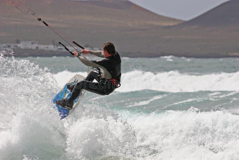 Kitesurfer immagini stock libere da diritti