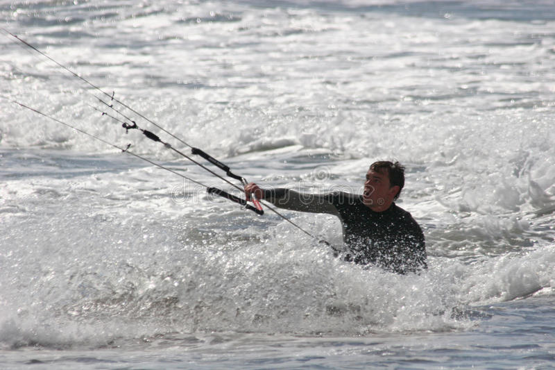 kitesurfer image stock