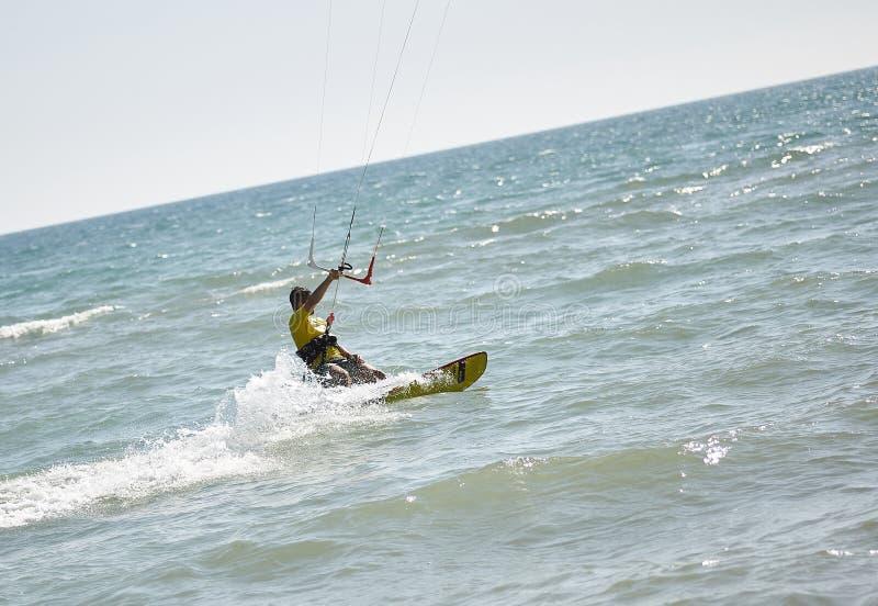 Kitesurfer  2 royalty free stock images