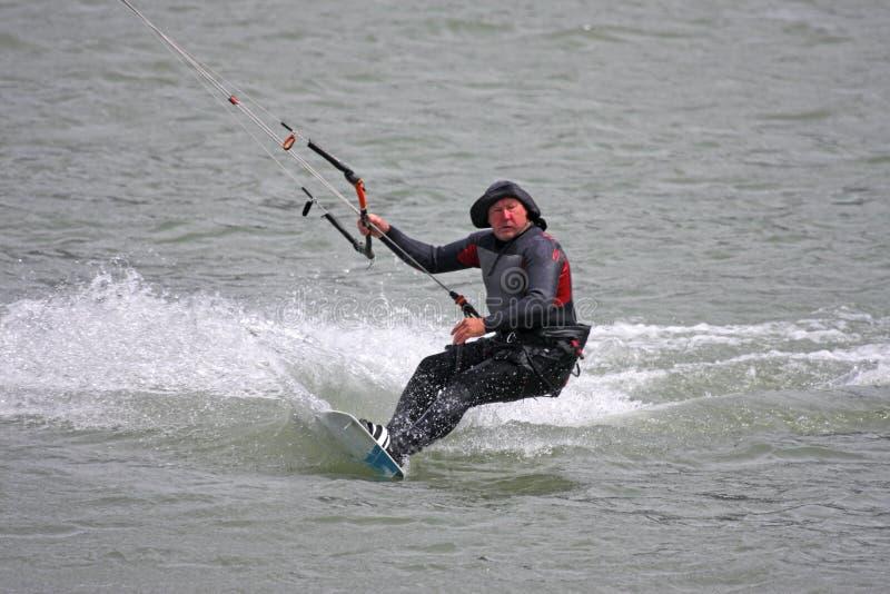Kitesurfer-Reitbrett stockfotos