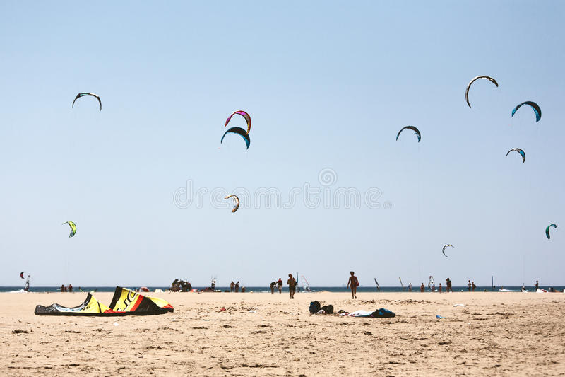 Spiaggia di Prasonisi immagine stock libera da diritti