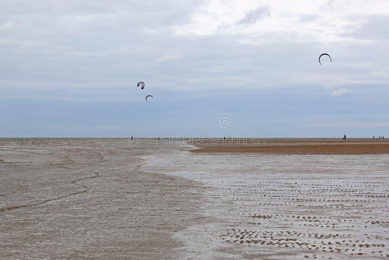 Old Hunstanton Beach, Norfolk royalty free stock image