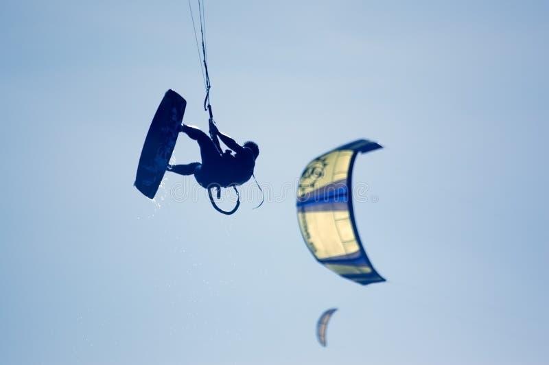 kitesurfing obraz stock