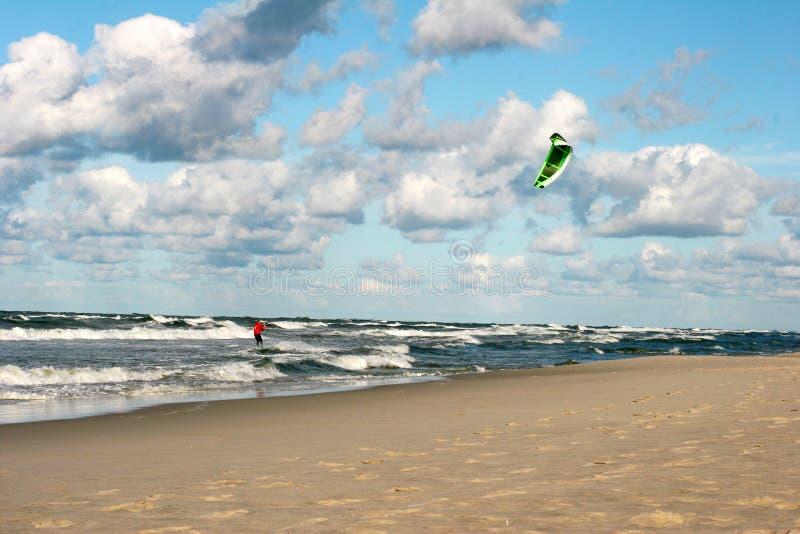 kitesurfing obrazy royalty free