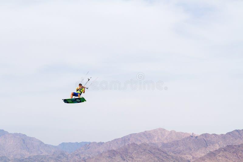Kitesurfing . royalty free stock photo