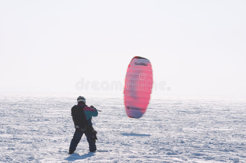 Kiting image stock