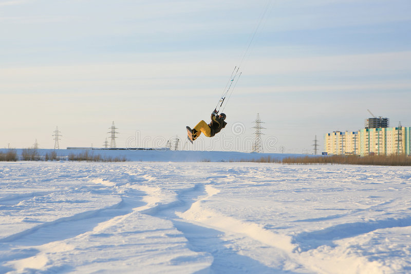 Kiting foto de stock