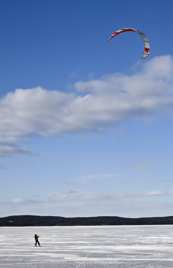 Kiting fotografia de stock royalty free