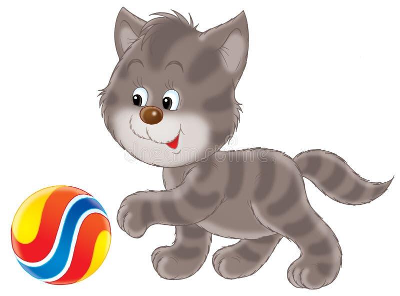 Kitten stock illustration