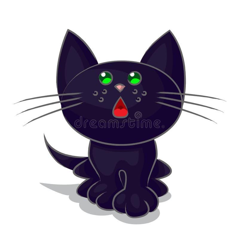 Download Kitten stock vector. Illustration of kitten, sitting - 31998158