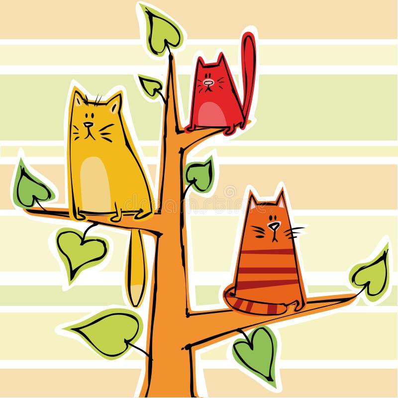 Kittens stock illustration