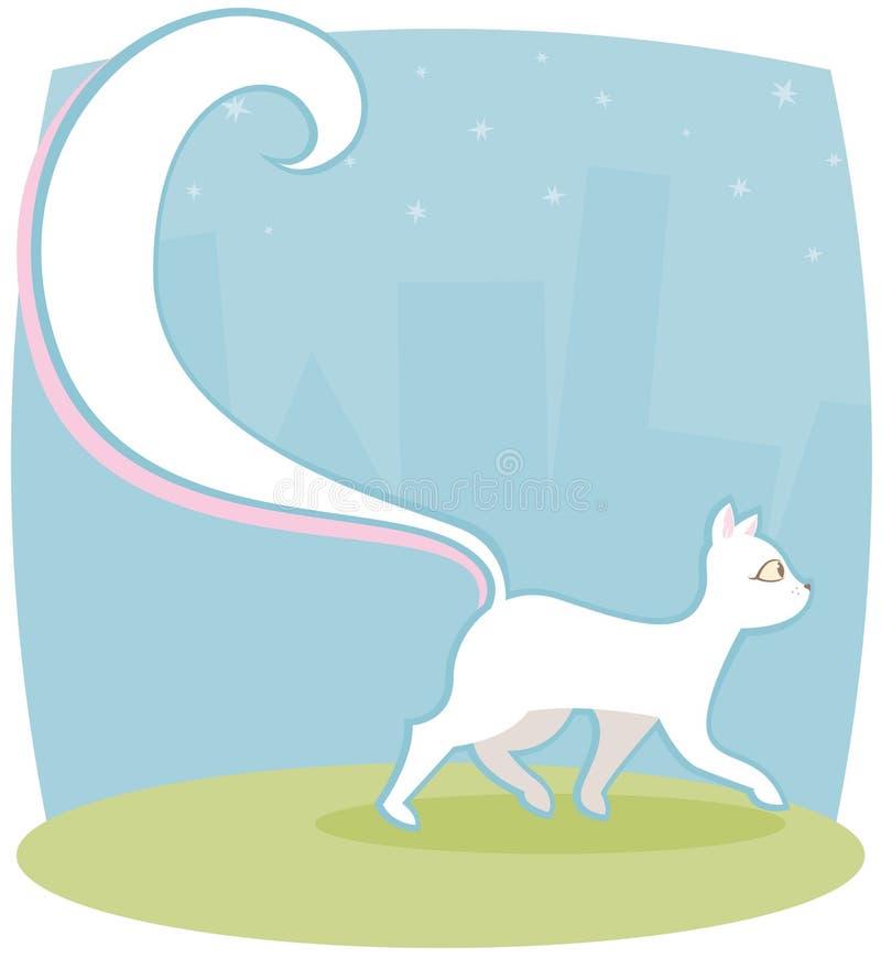 Kitty frais illustration de vecteur