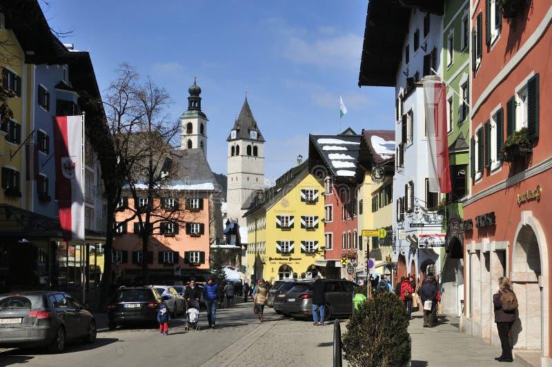 Kitzbuhel royalty-vrije stock foto's