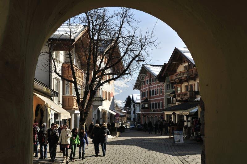 Kitzbuhel royalty-vrije stock fotografie