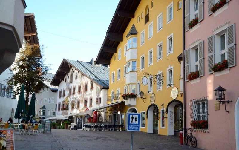 Download Kitzbuhel town editorial stock image. Image of scenery - 26759424