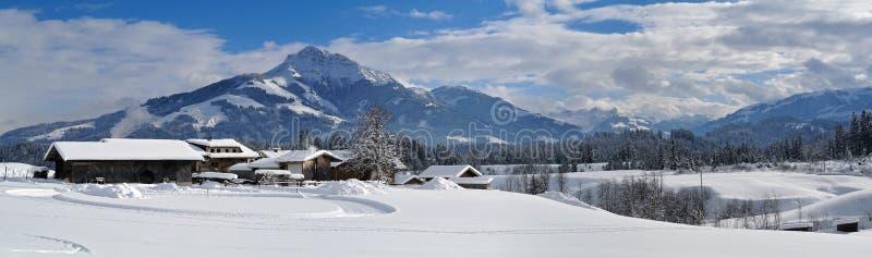 Kitzbuheler-Horn, Tirol, Österreich lizenzfreies stockbild