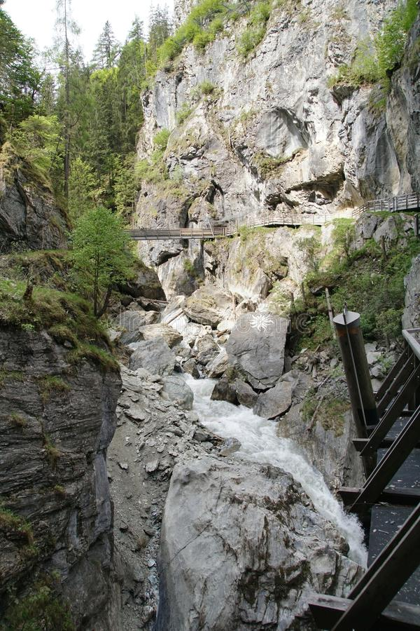 Kitzloch moite dans Taxenbach Autriche photo libre de droits