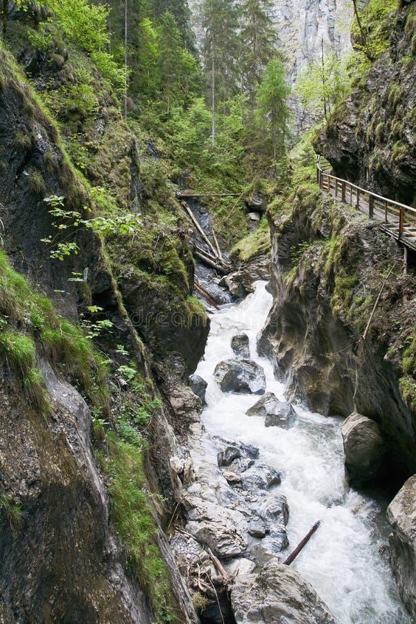 Kitzloch moite dans Taxenbach Autriche image libre de droits