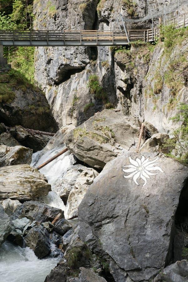 Kitzloch moite dans Taxenbach Autriche image stock