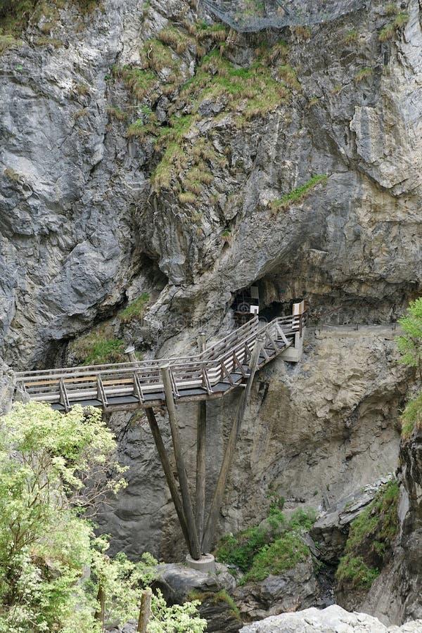 Kitzloch moite dans Taxenbach Autriche photo stock